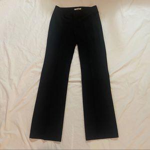 HOLT RENFREW mid rise straight leg trousers